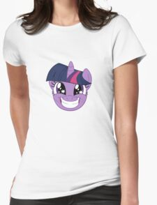 Twilight Grin Womens Fitted T-Shirt
