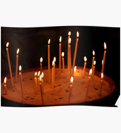 light a candle Poster