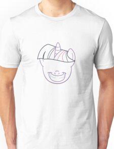 Twilight Grin - Lines Unisex T-Shirt