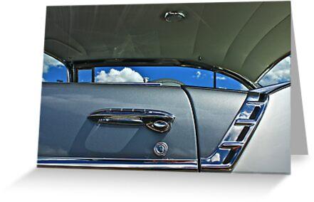 Blue Sky,,, Framed,,,, by Linda Bianic