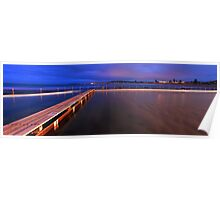 Narrabeen Tidal Pool, New South Wales, Australia Poster