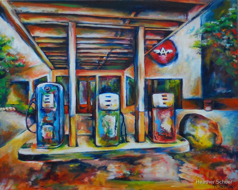 Gas Station by Heather Schuer