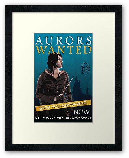 Aurors Wanted by flyingpantaloon