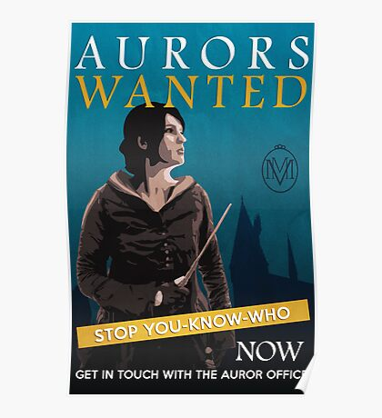 Aurors Wanted Poster
