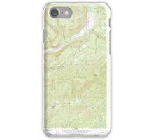 USGS Topo Map Washington State WA Aladdin 239773 1966 24000 iPhone Case/Skin