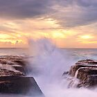 Narrabeen Rocks, New South Wales, Australia by Michael Boniwell