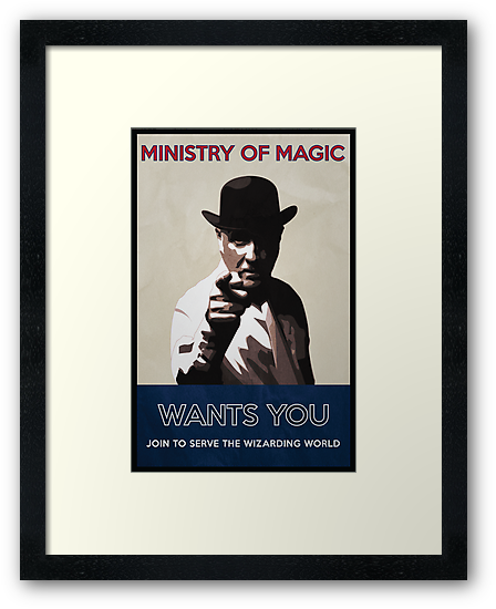 Ministry of Magic Wants You by flyingpantaloon