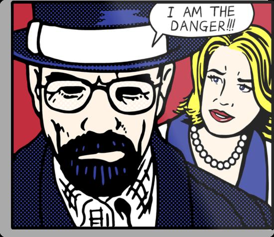 I Am the Danger Lichtenstein by jimiyo