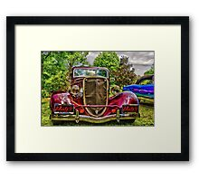 Take me for the ride! Framed Print