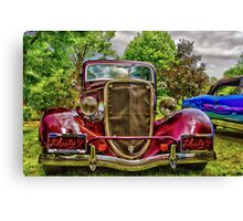 Take me for the ride! Canvas Print