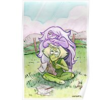 Steven Universe - Amethyst and Peridot Poster