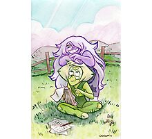Steven Universe - Amethyst and Peridot Photographic Print