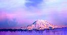 Vivid Mountain Sunset by Tori Snow