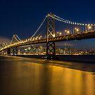 The Bay Bridge Skyline by Toby Harriman