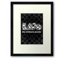 Life- the ultimate puzzle Framed Print
