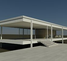 Farnsworth House by youngArchitect