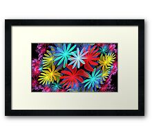 Gasket of Flowers Framed Print