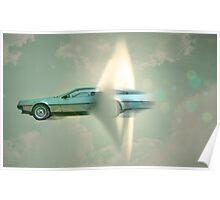 supersonic delorean Poster