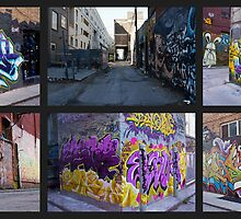 Alleyway Art by 1BitofCharacter