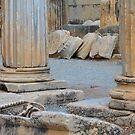 Roman Column Remains of Ephesus by M-EK