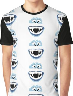 Simple Bumble Face Graphic T-Shirt