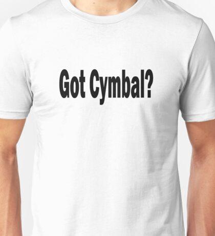 Cymbal Unisex T-Shirt