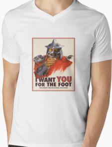 shredder wants you! Mens V-Neck T-Shirt