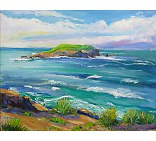 Cook Island Fingal Head NSW  Photographic Print