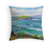 Cook Island Fingal Head NSW  Throw Pillow