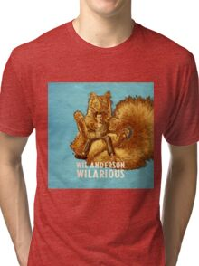 Wil Anderson - Wilarious (square) Tri-blend T-Shirt