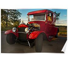 1931 Ford Panel Van Poster