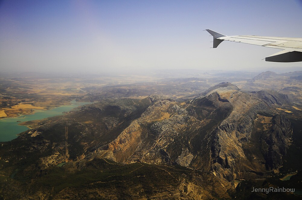 Flying Over Spanish Land I by JennyRainbow