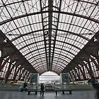 Railway station Antwerp 2 by Adri  Padmos