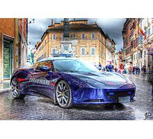 HDR Car Photographic Print