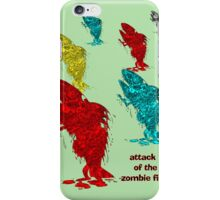 Attack of the Zombie Fishes iPhone Case/Skin