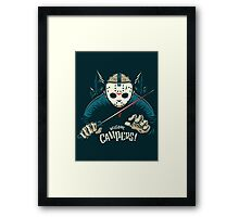 Welcome Campers! Framed Print