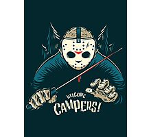 Welcome Campers! Photographic Print