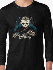 Welcome Campers! Long Sleeve T-Shirt