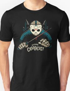 Welcome Campers! Unisex T-Shirt
