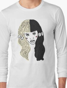 Mealanie Martinez - Outline Long Sleeve T-Shirt