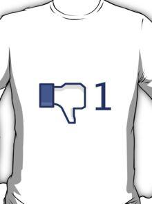 facebook, dislike T-Shirt