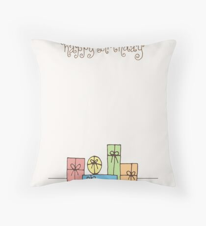 Happy Birthday!! #2... Throw Pillow