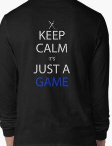 sword art online keep calm it's just a game anime manga shirt T-Shirt