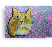 355 - SMUG MITCH - DAVE EDWARDS - COLOURED PENCILS & INK - 2012 Canvas Print