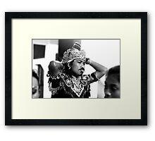 A Balinese Smoke Framed Print