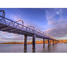 Into Infinity - Motor Bridge at Murray Bridge, South Australia Photographic Print