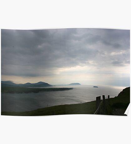 Over Trawbreaga Bay, Donegal Poster