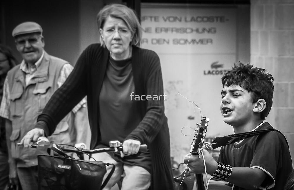 Street musician 4 by faceart