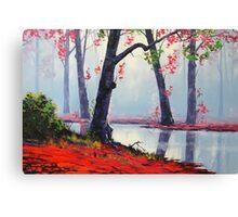 Misty Autumn Canvas Print