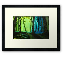 Sunlight and Shadow Framed Print